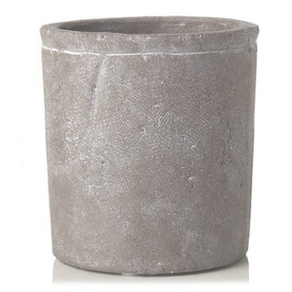 Sage & Co 5-inch Round Small Stone Cylinder Pot