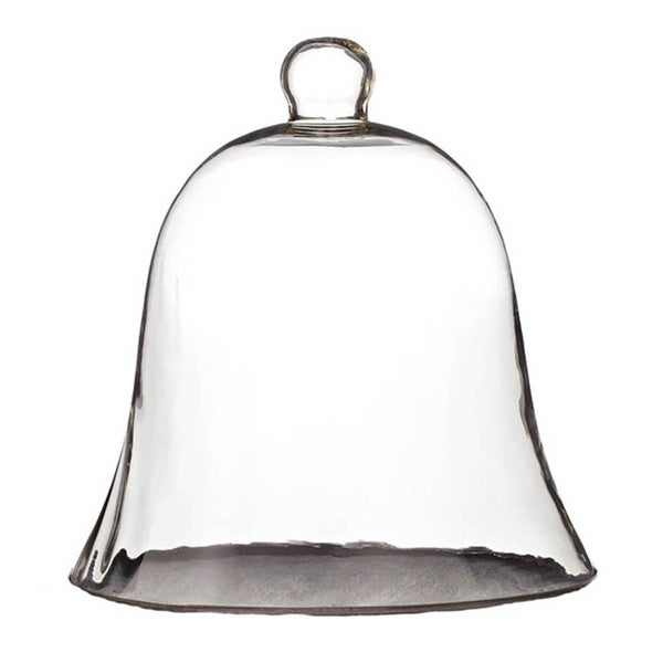 Sage & Co Clear Glass Bell Cloche
