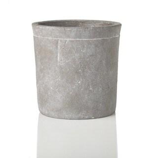 Sage & Co 7-inch Round Large Stone Cylinder Pot