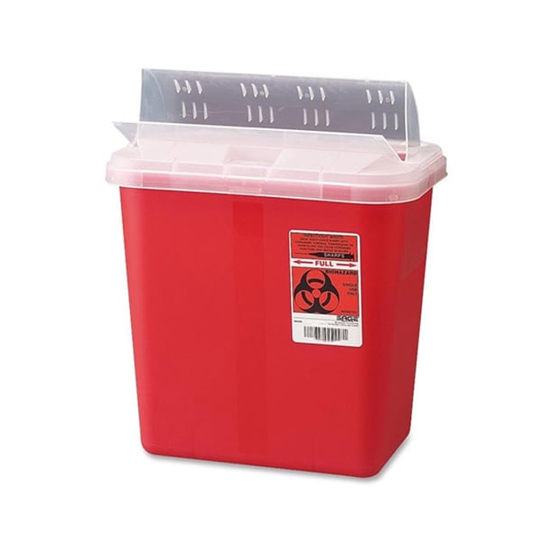 Covidien Sharps 2-gallon Container with Lid 14171093
