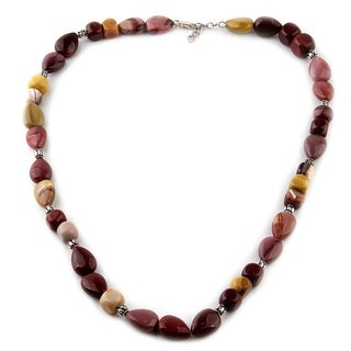 Jasper Bead 26-inch Necklace
