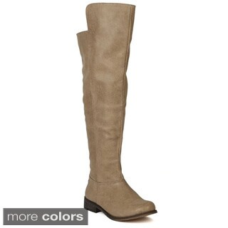 Breckelle's Tenesee-17 Women's Partial Over-the-Knee High Riding Boots