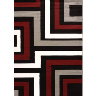 Cristall Andie Grey Area Rug (5' 3 x 7' 2)
