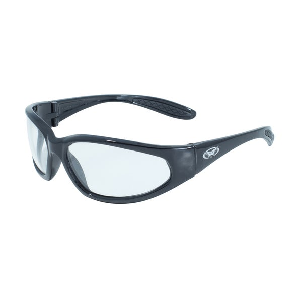 Global Vision Hercules Black Frame Sunglasses