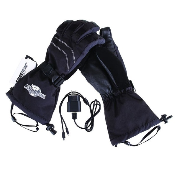 Heated Gear Heated Leather Palm Gloves Kit