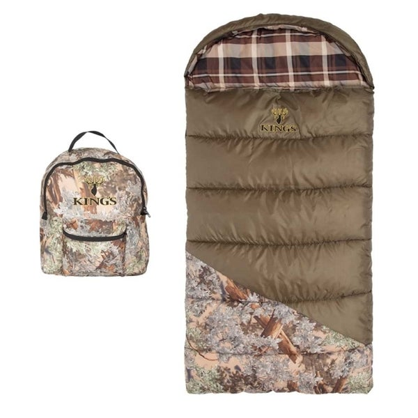 King's Hunter Series Jr. Youth Sleeping Bag - Desert Shadow Camo 14172298
