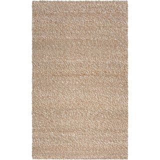 Hand-Woven Beatrice Jute Solid Area Rug (2'6 x 4')