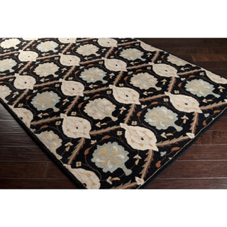 Hand-Tufted Kathy Wool Floral Area Rug (7'6 x 9'6)