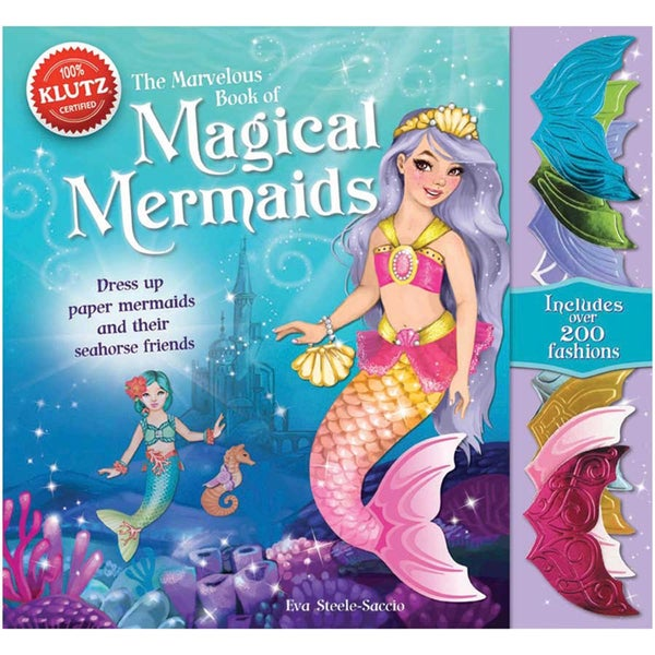 Magical Mermaids Book Kit