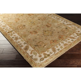 Hand-Tufted Betty Wool Floral Area Rug (3' x 12')