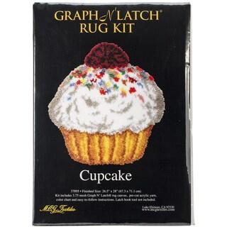 "Latch Hook Kit 26.5""X28"" Shaped-Cupcake"