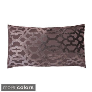 Damon Scroll Feather-filled Decorative Throw Pillow