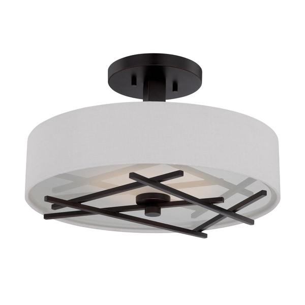 Nuvo Stix 1 Light LED Semi-Flush Mount