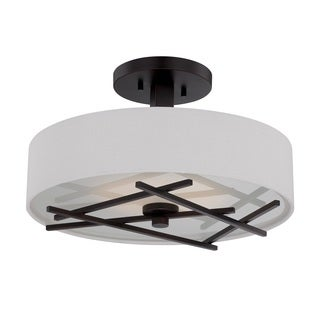 Nuvo Stix 1 Light LED Semi-Flush Mount