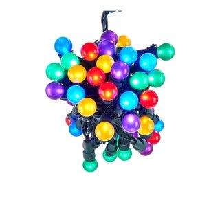 Kurt Adler UL 50-light Multicolored LED Pearlized Novelty Light Set