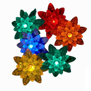 Kurt Adler 25-light LED Multi-petal Reflector Light Set