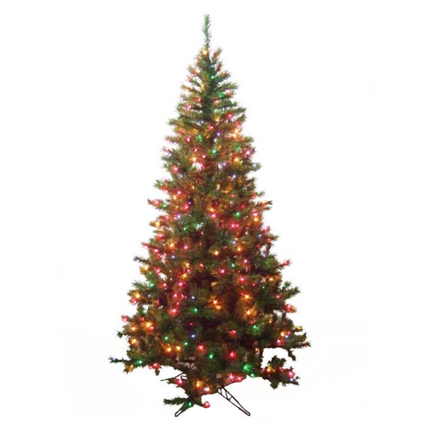 Kurt Adler 6.5-foot Pre-lit Sugar Pine Multi-Tree