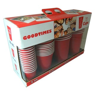 Goodtimes 70-piece Red Cup Party Variety Kit