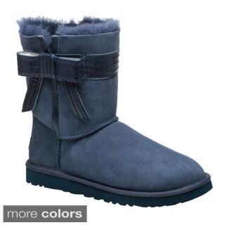 Ugg Australia Women's 'Josette' Sheepskin Bow Boots