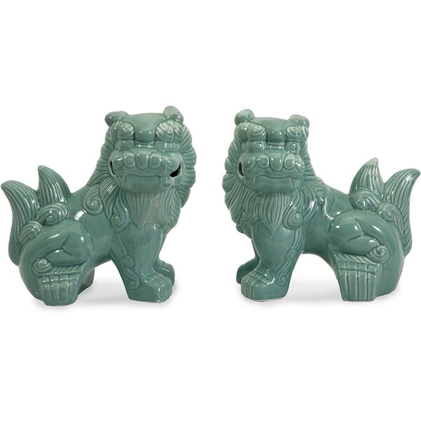 Choo Foo Dogs (Set of 2)