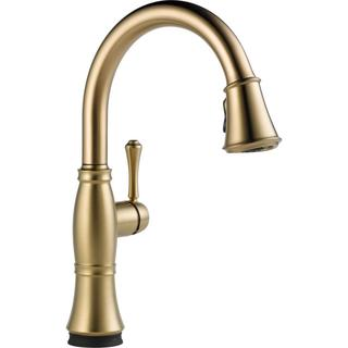 Delta Cassidy Single Handle Pull-down Kitchen Faucet with Touch2O(R) Technology