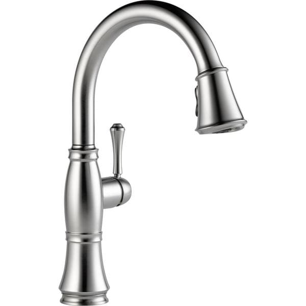Delta Cassidy Pull down Single Handle Kitchen Faucet