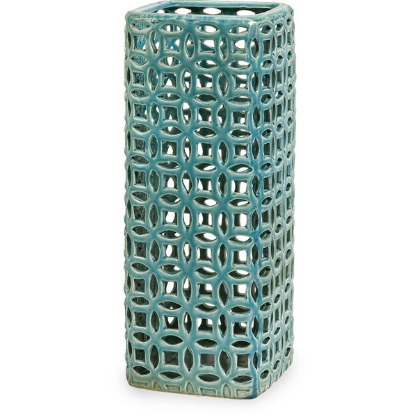 Links Tall Graphic Vase