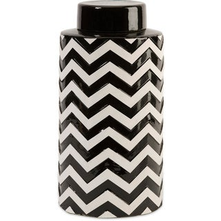 Chevron Large Canister with Lid