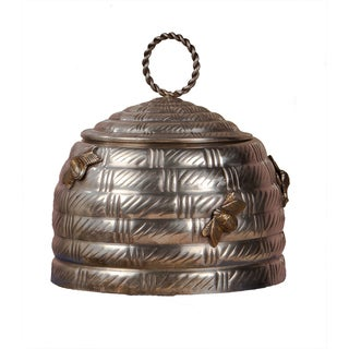 Antique Silver Beehive Box