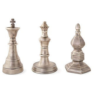 Antique Chess Finals (Set of 3)