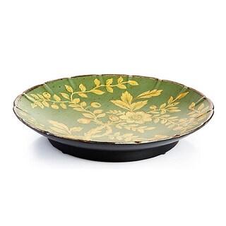 Blue/ Green Porcelin Plate