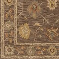 Hand-Tufted Akio Bordered Wool Rug (2'3 x 10')