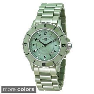 Oniss Women's Paris AK8043-L Ceramic Swiss Quartz Watch