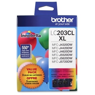 Brother Innobella LC2033PKS Ink Cartridge - Cyan, Magenta, Yellow