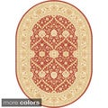 Antiquity Vines Oval Traditional Area Rug (5'3 x 7'3)