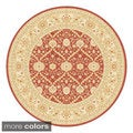 Antiquity Vines Traditional Area Rug (5'3 Round)
