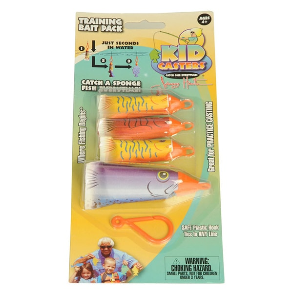 Kid Casters Jimmy Houston Training Lures