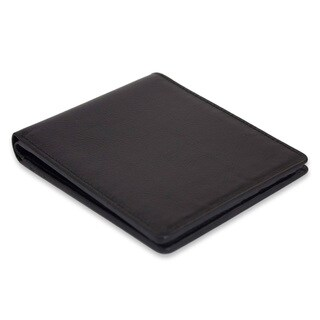 Leather Men's 'Credit to Black' Wallet (Thailand)