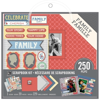 "Scrapbook Kit 8""X8""-Family"