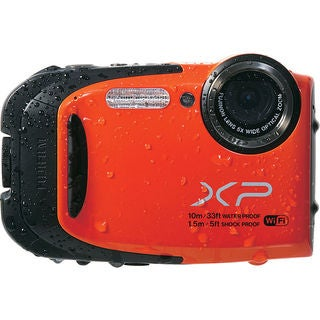 Fujifilm FinePix XP70 Orange Digital Camera