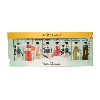 L'Occitane Fantastic 8-piece Hand Cream Gift Set