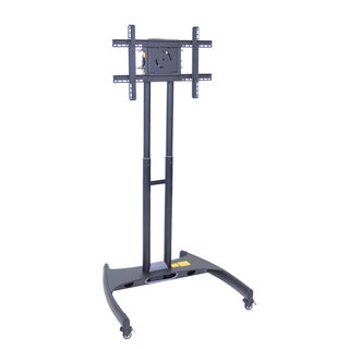 Offex Grey Adjustable Flat Panel TV Cart