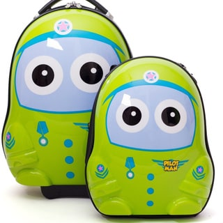 Cuties & Pals Pilot Kids Hardside Luggage Set