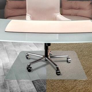 Floortex Cleartex Anti-Slip Ultimat Rectangular Chairmat for Polished Hard Floors (4' x 5')