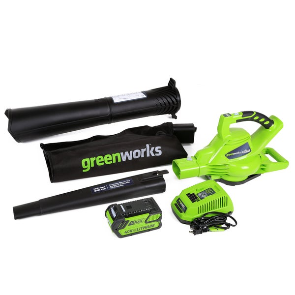 Greenworks DigiPro G-MAX 40V Cordless Blower/Vacuum