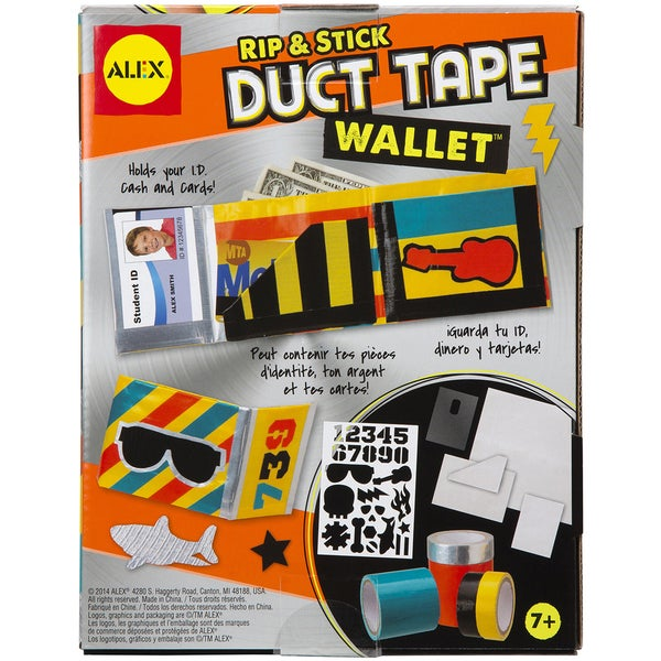 Rip & Stick Duct Tape Wallet Kit