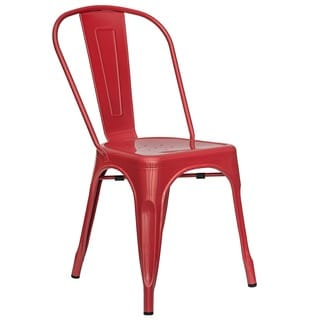Trattoria Steel Dining Side Chair (Set of 2)