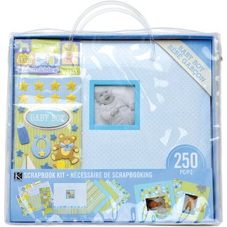 "Scrapbook Kit 12""X12""-Baby Boy"