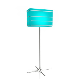 Contempo Lights LuminArt Bellagio Rechargeable Color-changing Floor Lamp