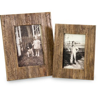 Havana 4x6 and 5x7 Frames (Set of 2)